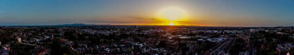 Worcester from above